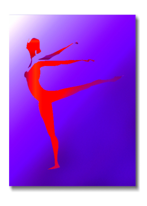 - Dancer - Techno-Impressionist Museum - Techno-Impressionism - art - beautiful - photo photography picture - by Tony Karp