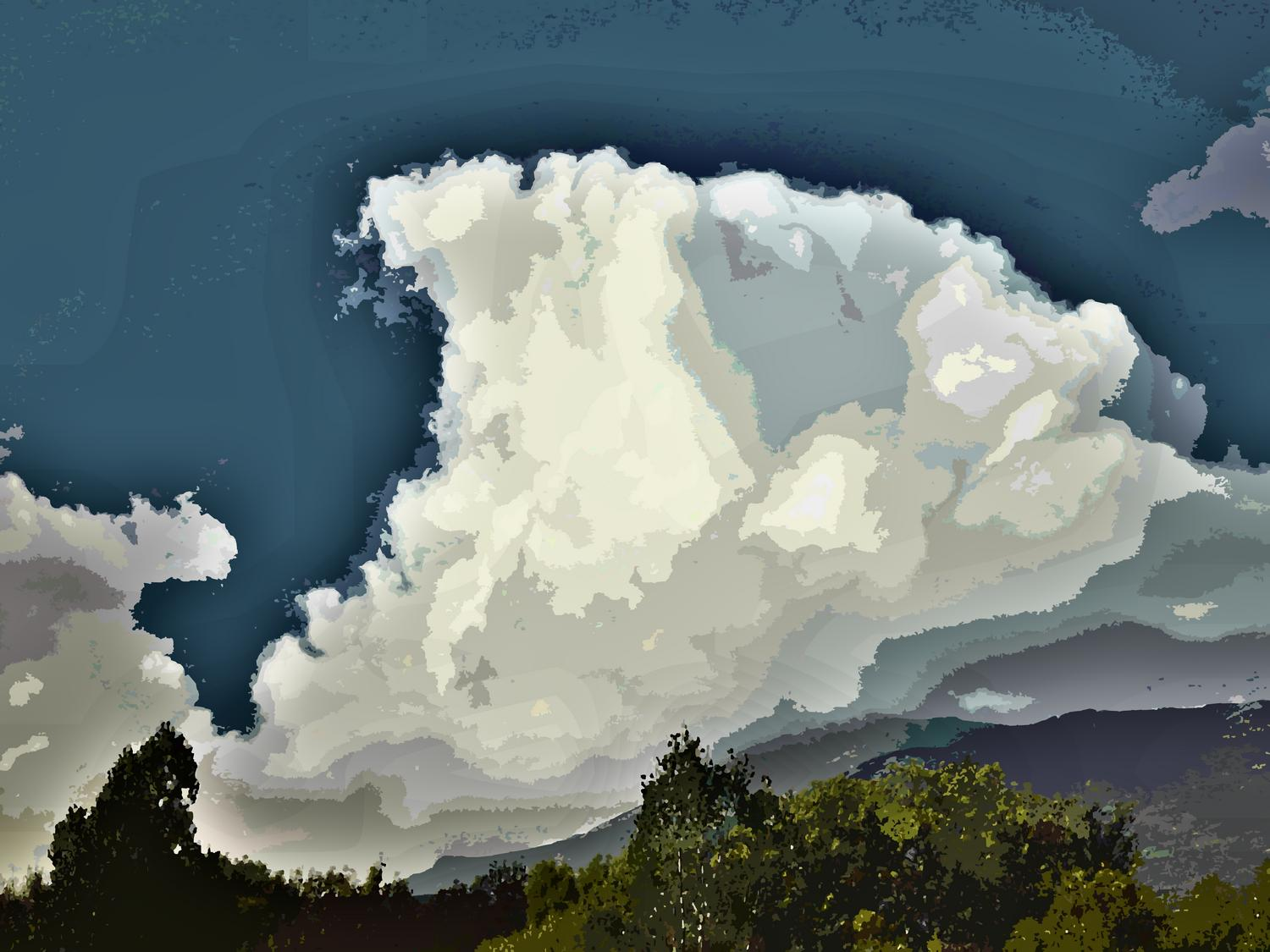 Mountains in Spain, by Tony Karp - Mountains in Spain - Techno-Impressionist Museum - Techno-Impressionism - art - beautiful - photo photography picture - by Tony Karp