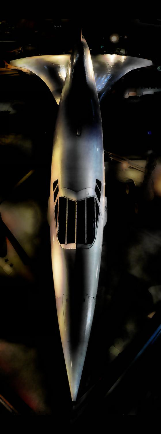 - <center>Concorde - Techno-Impressionist Museum - Techno-Impressionism - art - beautiful - photo photography picture - by Tony Karp