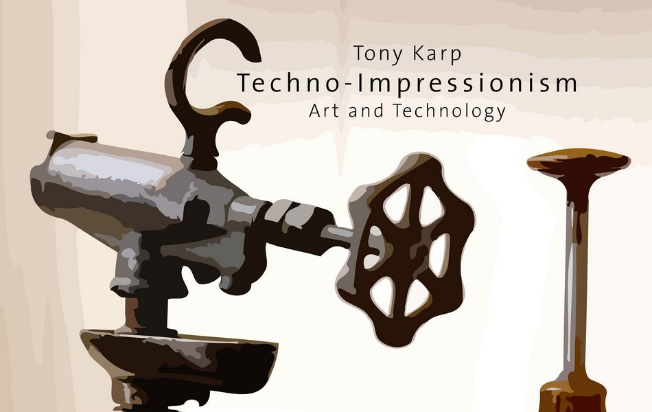 Techno-Impressionism Art and Technology Book Cover - The Art of Tony Karp - Techno-Impressionist Museum - Techno-Impressionism - art - beautiful - photo photography picture - by Tony Karp